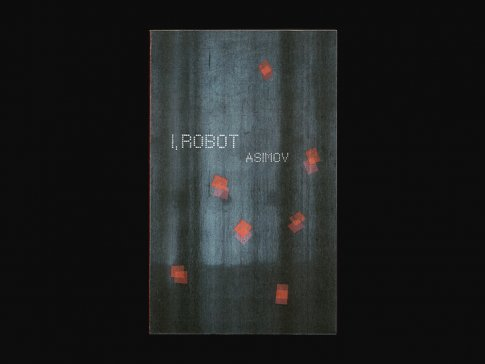 I, Robot book cover redesign